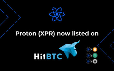 Proton (XPR) now listed on HitBTC!