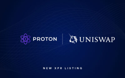 Proton (XPR) is now listed on Uniswap