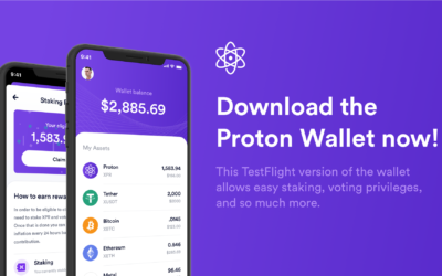 Proton Wallet Alpha is now available for download!