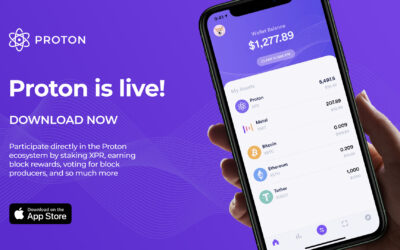 Proton Wallet available for download on the iOS App Store
