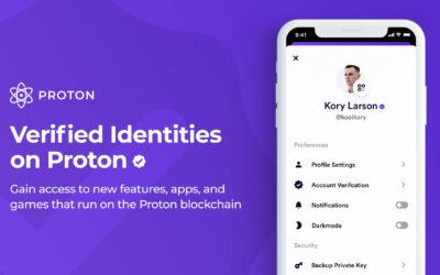 Introducing Verified Identities on Proton
