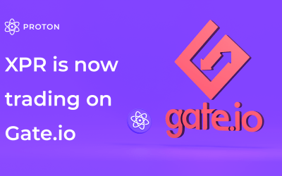 Proton (XPR) is now listed on Gate.io