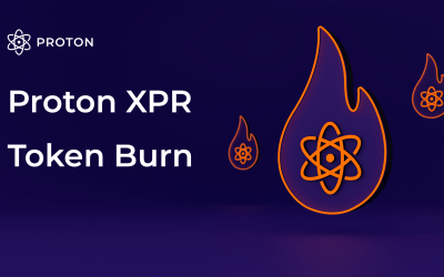 The first XPR token burn is complete, adding a deflationary measure for Proton