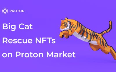 Big Cat Rescue launches their NFT collection on Proton Market