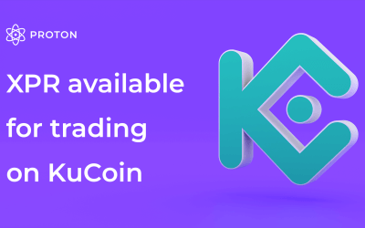 Proton (XPR) is now available on KuCoin