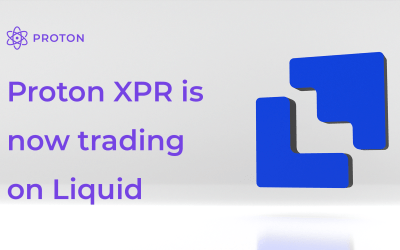 Proton (XPR) is now listed on Liquid!